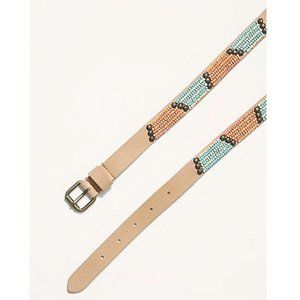 Free People By The Sea Beaded Belt (S-M)